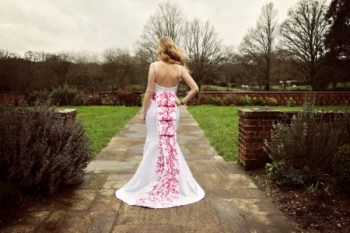Aylin white designs - Alternative bridal gown - unconventional wedding - bridal gowns