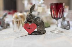 Alice in Wonderland wedding inspiration - custom place names - alternative and unconventional wedding