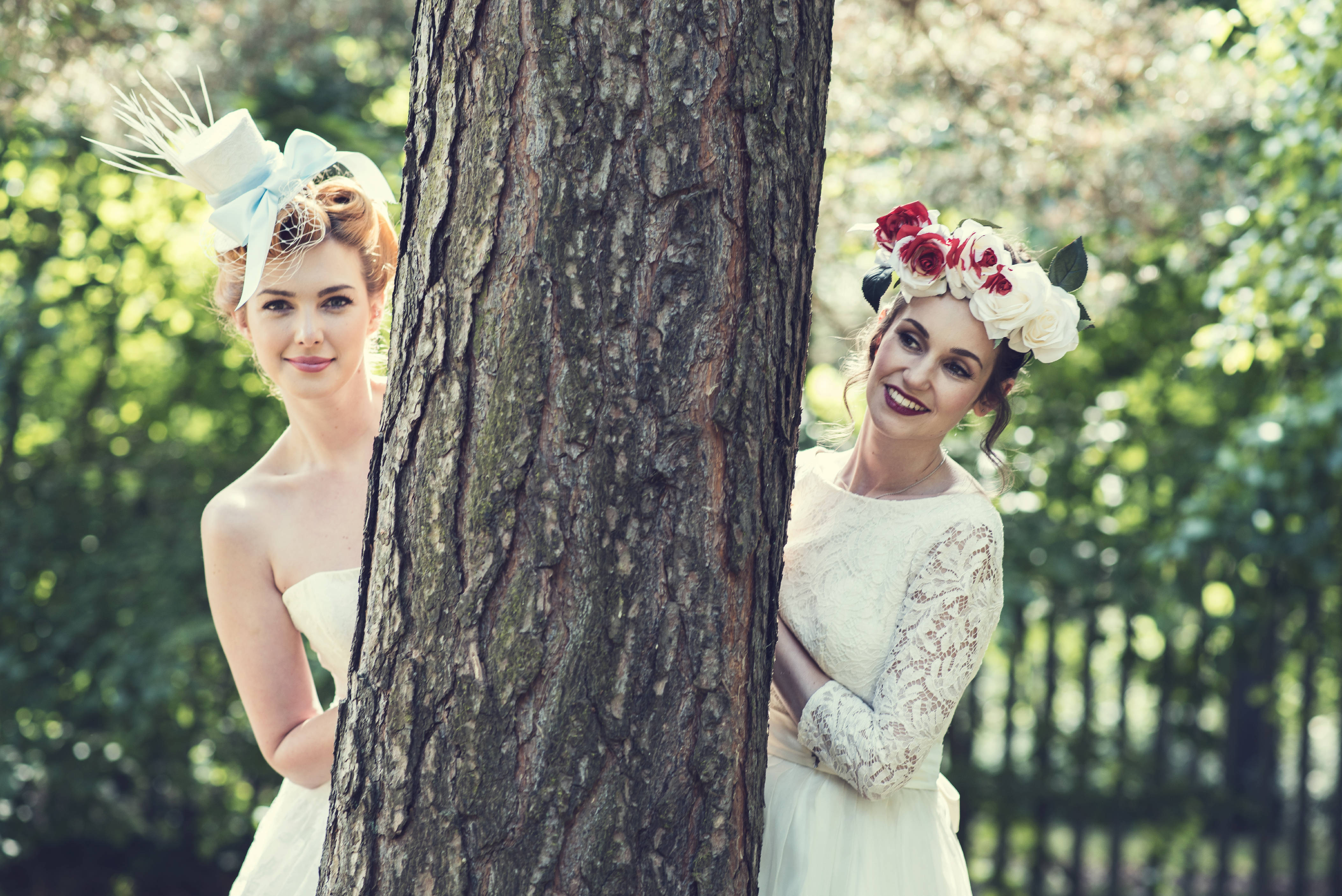 Alice in Wonderland wedding inspiration - in the woods - alternative and unconventional wedding