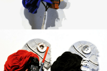 Charlotte Laurie Designs - Star Wars inspired button holes