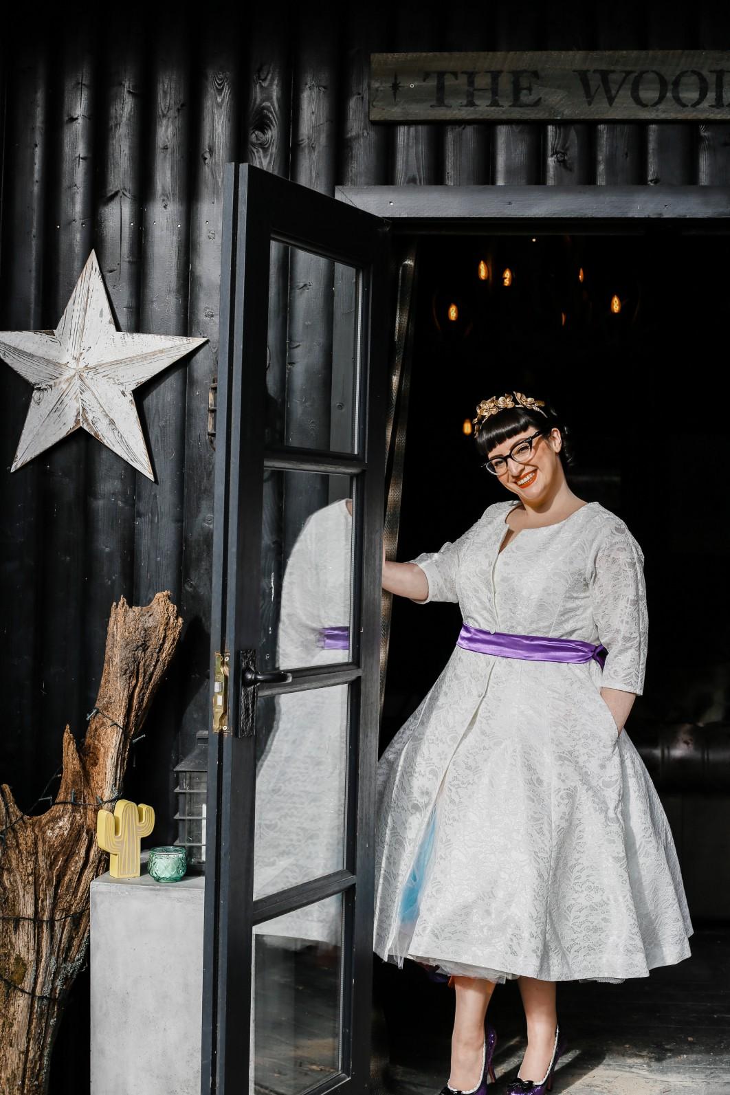 Becky Payne Photographer - Rainbow Unicorn Styled Wedding Shoot - Alternative bridal wear - Star