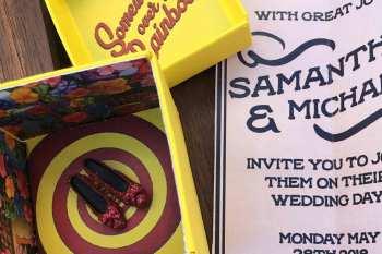 Ochre Electic - Wedding Stationery - Wizard of Oz wedding - alternative wedding - unconventional