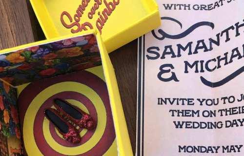 Ochre Electic - Wedding Stationery 10