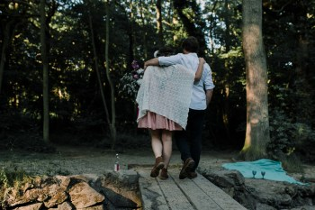Caroline Goosey - alternative wedding photography - engagement shoot 11