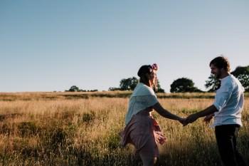 Caroline Goosey - alternative wedding photography - engagement shoot 14