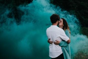 Caroline Goosey - alternative wedding photography - engagement shoot 15
