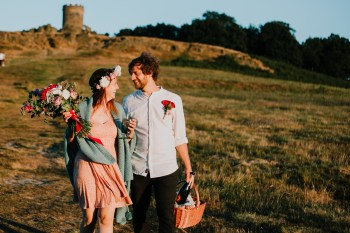 Caroline Goosey - alternative wedding photography - engagement shoot 16