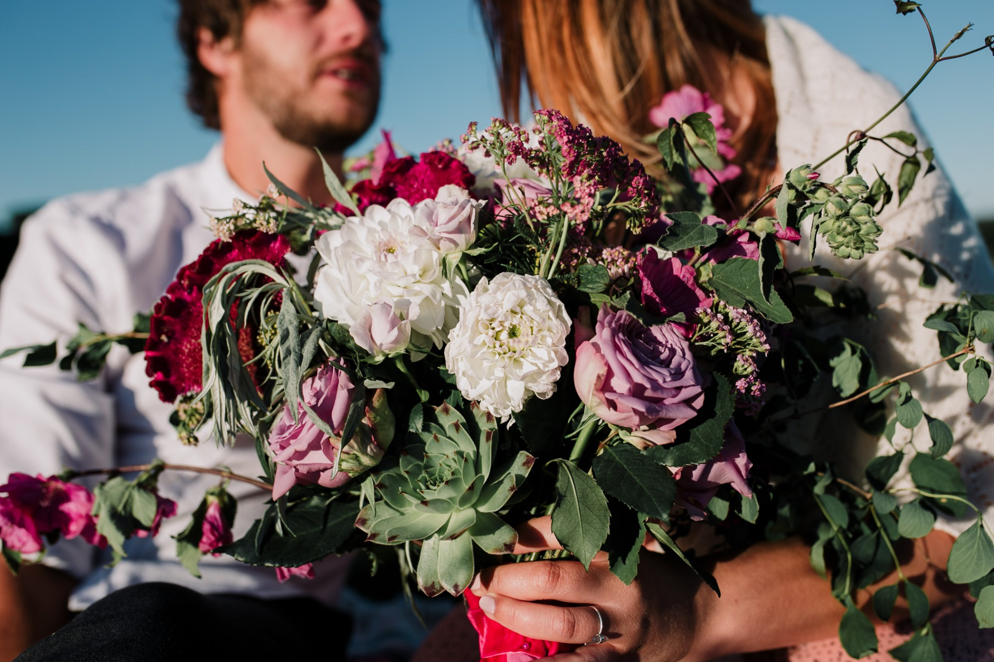Caroline Goosey - alternative wedding photography - engagement shoot 23