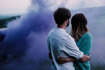 Caroline Goosey - alternative wedding photography - engagement shoot 6