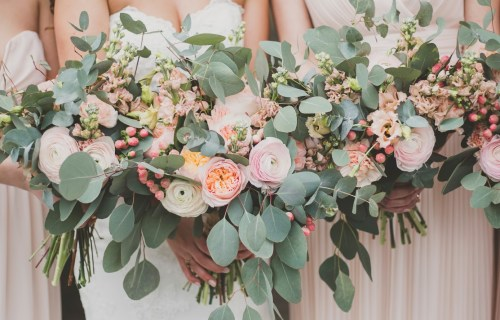 The Coastal Celebrant - wedding celebrant - wedding flowers - blush