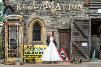 Bridal Reloved Street - Reclamation Yard Wedding Styled Shoot - Photos by Jim - 25