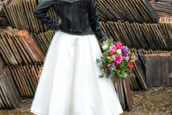 Bridal Reloved Street - Reclamation Yard Wedding Styled Shoot - Photos by Jim - 27