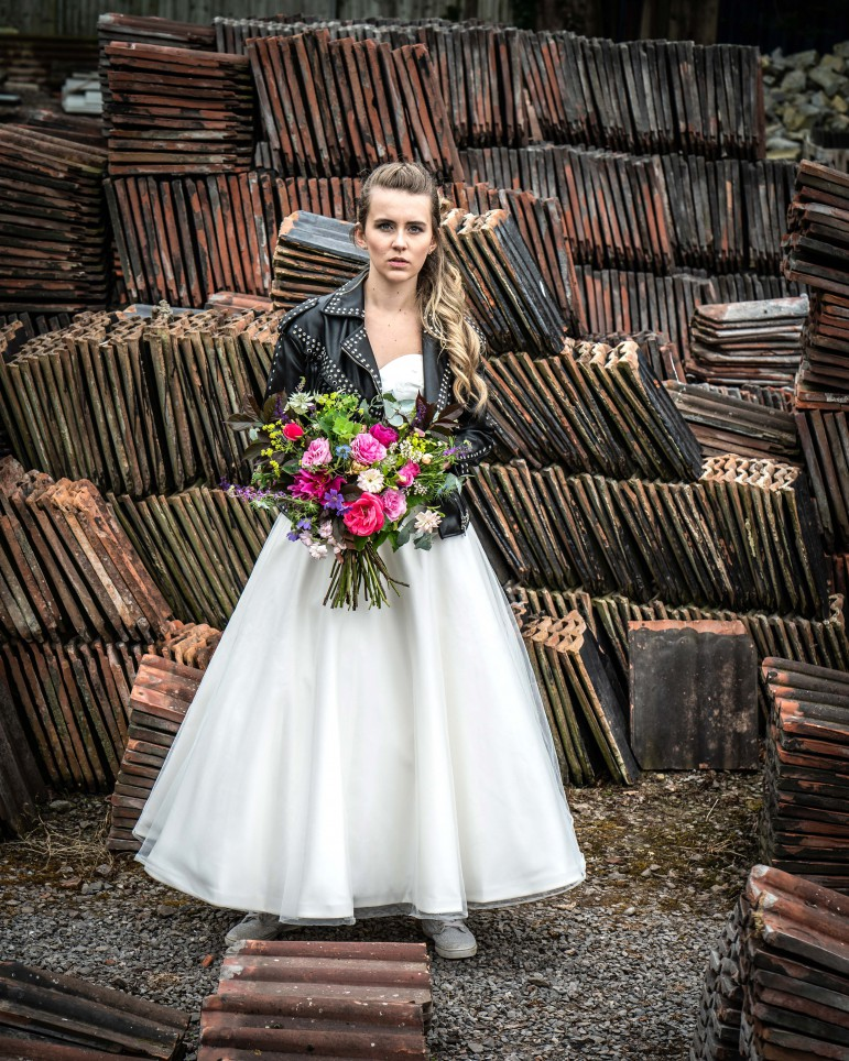 Bridal Reloved Street - Reclamation Yard Wedding Styled Shoot - Photos by Jim - 4