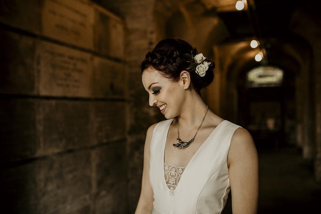 Chloe Mary Photography - Babes with the Power wedding - Rebel Rebel - Alternative wedding - Gothic wedding 33