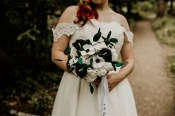 Chloe Mary Photography - Babes with the Power wedding - Rebel Rebel - Alternative wedding - Gothic wedding 6