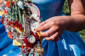 My Pretties - Dorothy - Wizard of Oz wedding styled shoot - Kieran Paul Photography 23
