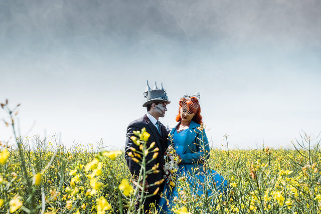 My Pretties - Dorothy - Wizard of Oz wedding styled shoot - Kieran Paul Photography 26