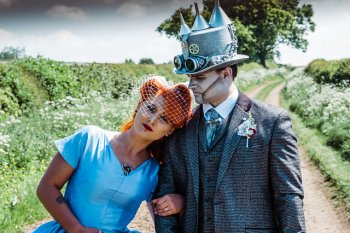 My Pretties - Dorothy - Wizard of Oz wedding styled shoot - Kieran Paul Photography 33