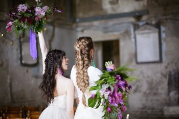 Rock the Purple Love - Gido Weddings - The Asylum Chapel - alternative wedding inspiration 121 - Urban, modern wedding