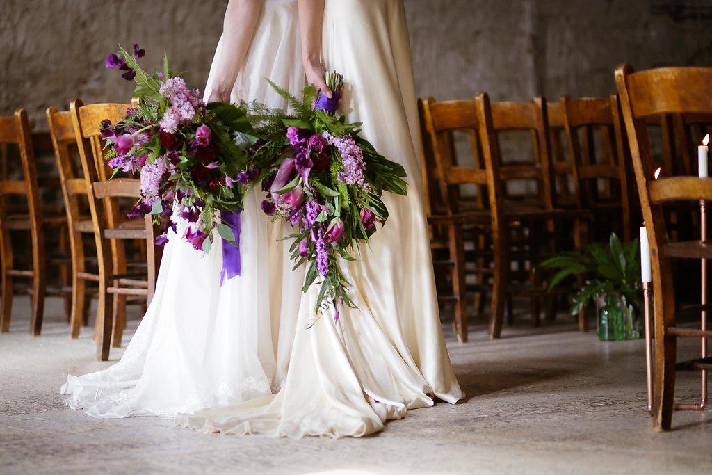 Rock the Purple Love - Gido Weddings - The Asylum Chapel - alternative wedding inspiration 113 - urban modern wedding