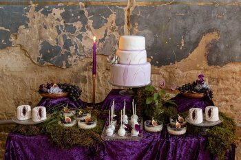 Rock the Purple Love - Gido Weddings - The Asylum Chapel - alternative wedding inspiration 13 - urban, modern wedding