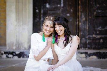 Rock the Purple Love - Gido Weddings - The Asylum Chapel - alternative wedding inspiration 120 - Urban, modern wedding
