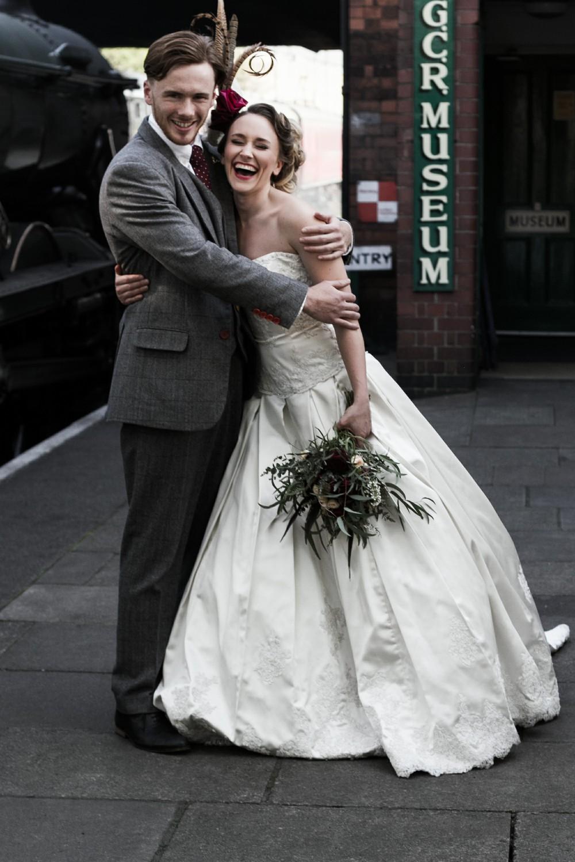 Iso Elegant Photography - Leicester wedding network - Railway wedding - vintage wedding 5