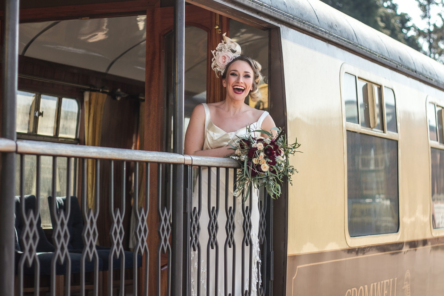 Iso Elegant Photography - Leicester wedding network - Railway wedding - vintage wedding 9
