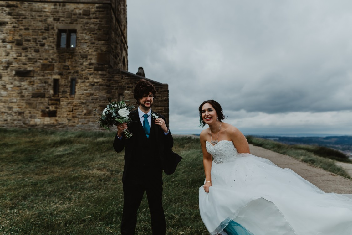Stevie Jay photography - Unconventional Wedding at Storthes Hall Huddersfield - alternative wedding 35