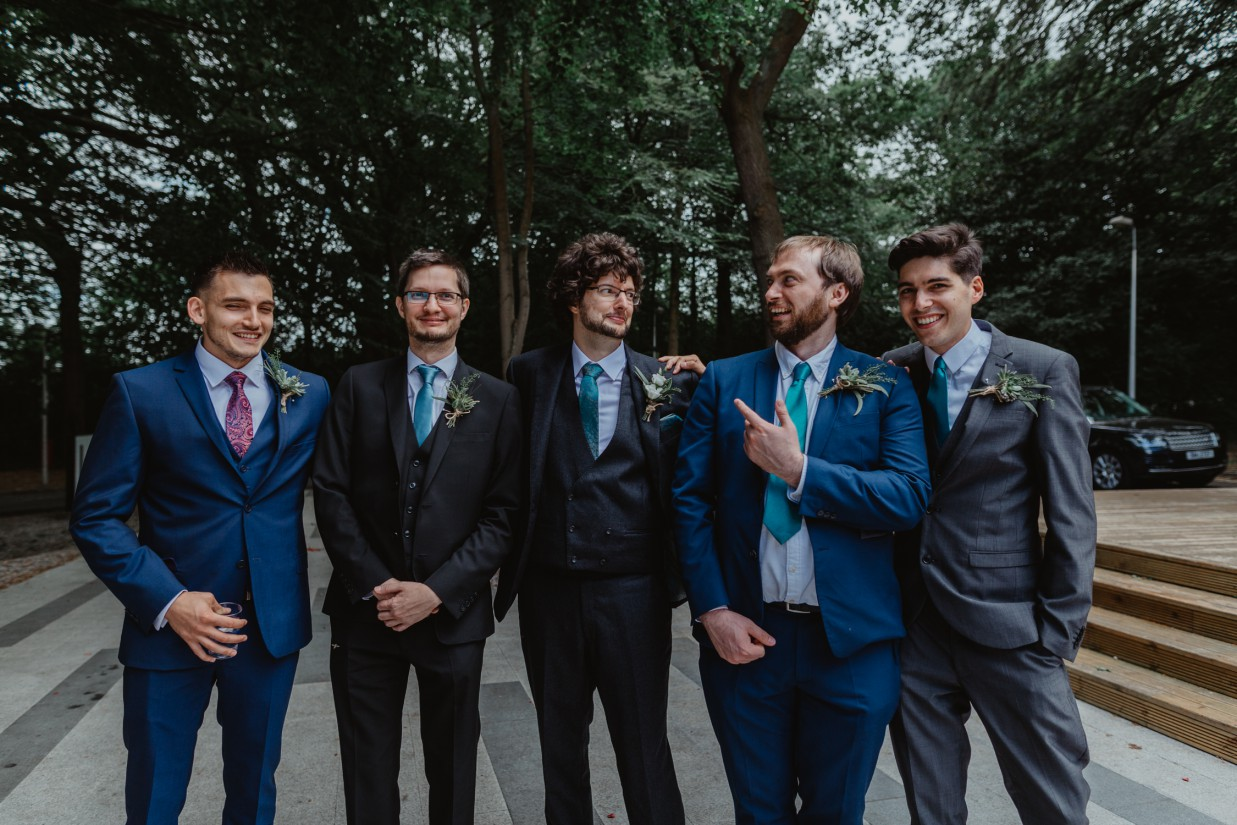 Stevie Jay photography - Unconventional Wedding at Storthes Hall Huddersfield - alternative wedding 53