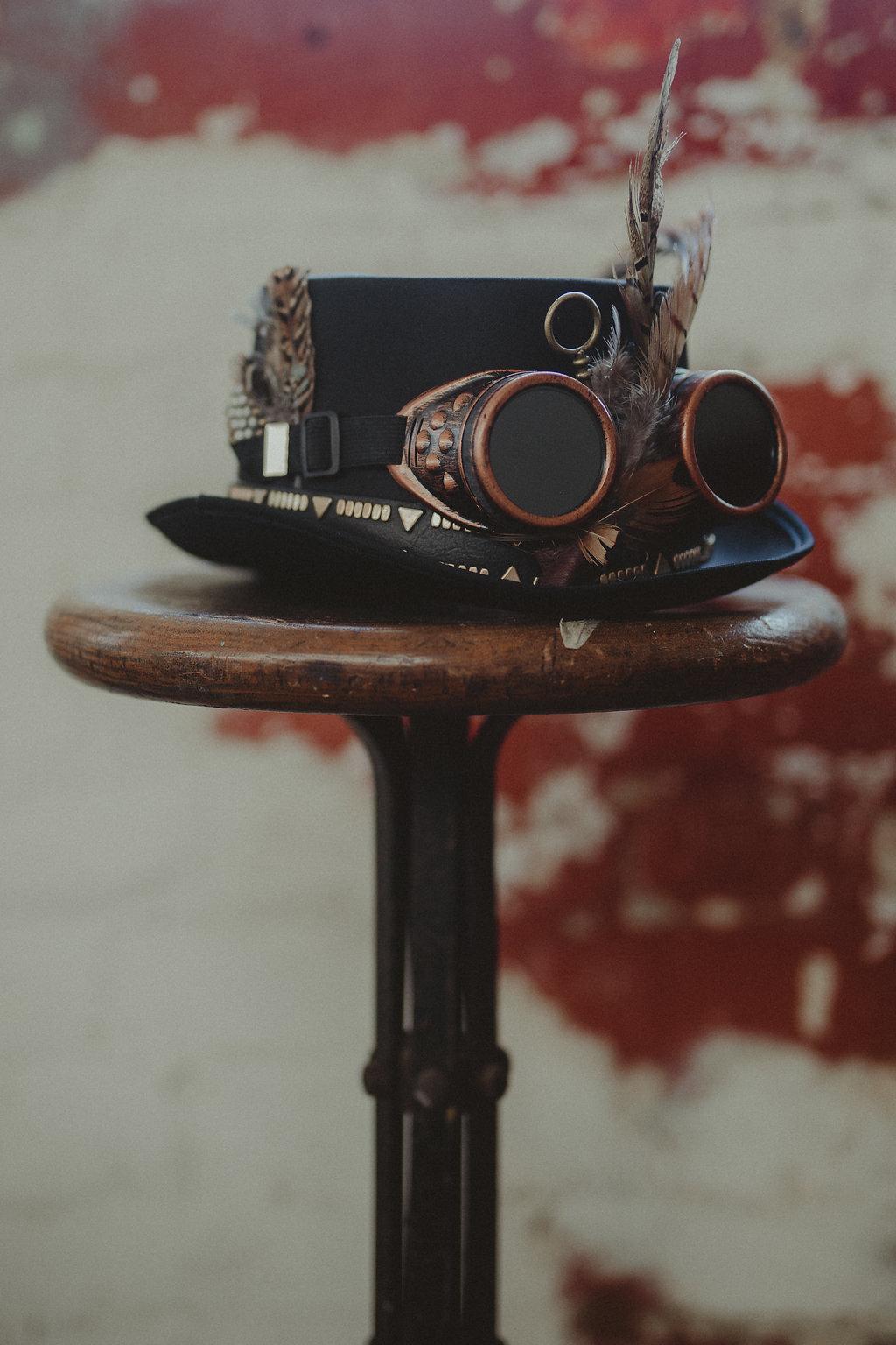 Studio Fotografico Bacci - Steampunk wedding - alternative wedding 20