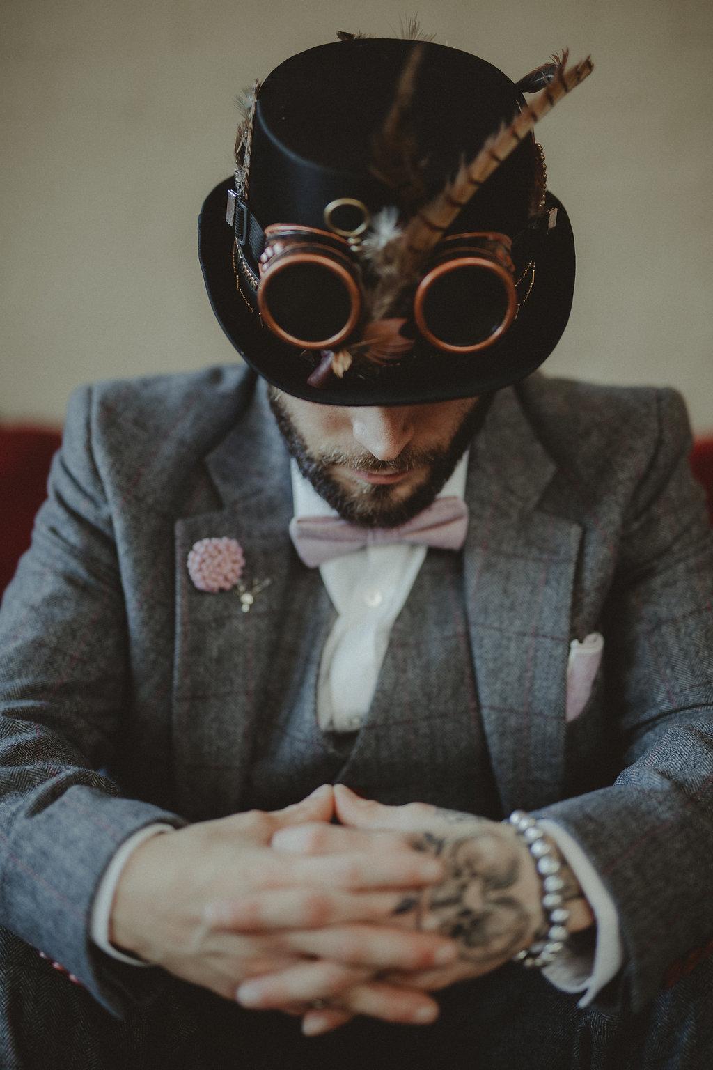 Studio Fotografico Bacci - Steampunk wedding - alternative wedding 70