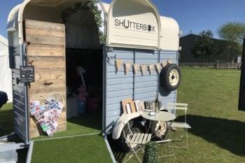 Enhanced events - shutterbox - photobooth horse box