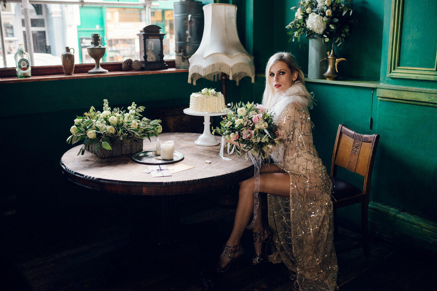 Margo Ryszczuk Photography - Its all about the glitter, sparkle and shine art deco inspired wedding shoot 7443265327342