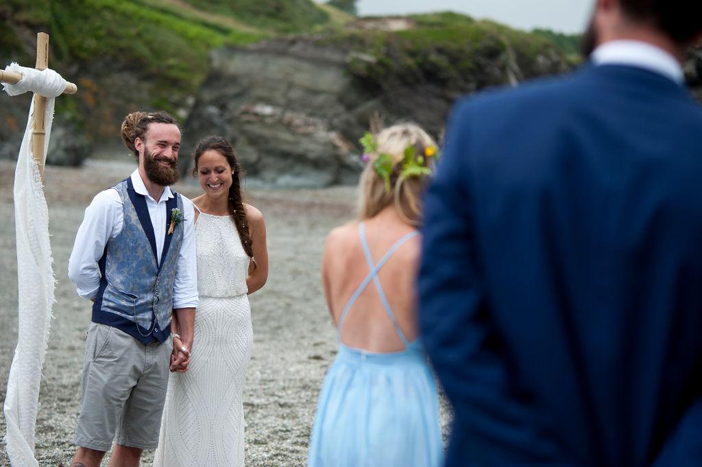 Nathan Walker Photography - Beach Wedding - Cornwall Wedding - Alternative wedding 13