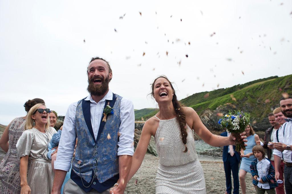 Nathan Walker Photography - Beach Wedding - Cornwall Wedding - Alternative wedding 18