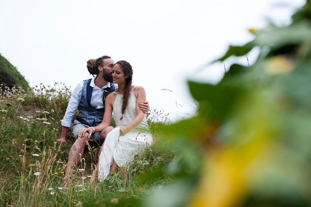 Nathan Walker Photography - Beach Wedding - Cornwall Wedding - Alternative wedding 6