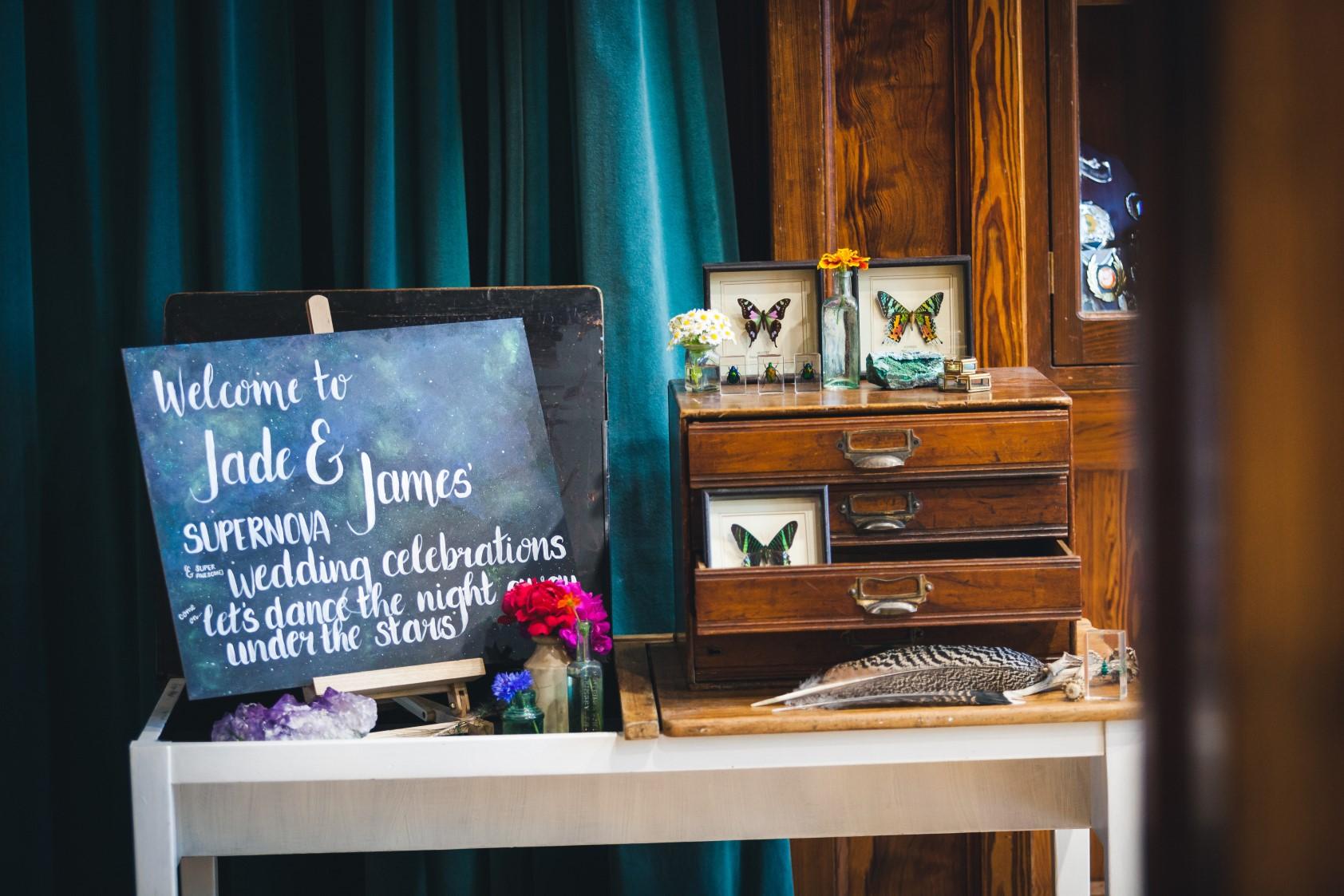 Curious Magpie- Science Geeks Wedding-Butterflies