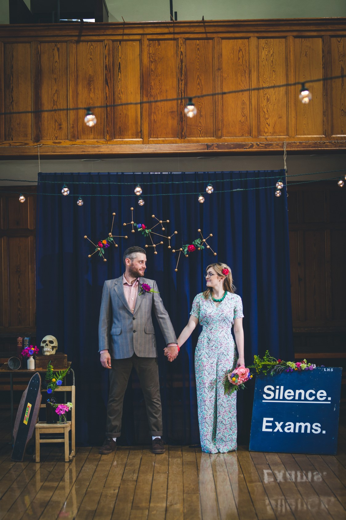 Curious Magpie- Science Geeks Wedding-Hands