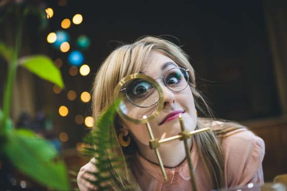 Curious Magpie- Science Geeks Wedding-Magnifying Glass2