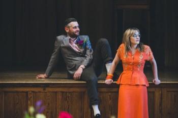 Curious Magpie- Science Geeks Wedding-Orange