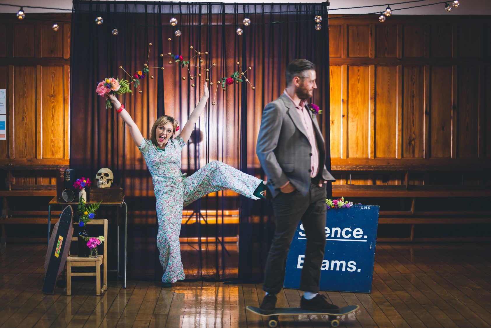 Curious Magpie- Science Geeks Wedding-Silly