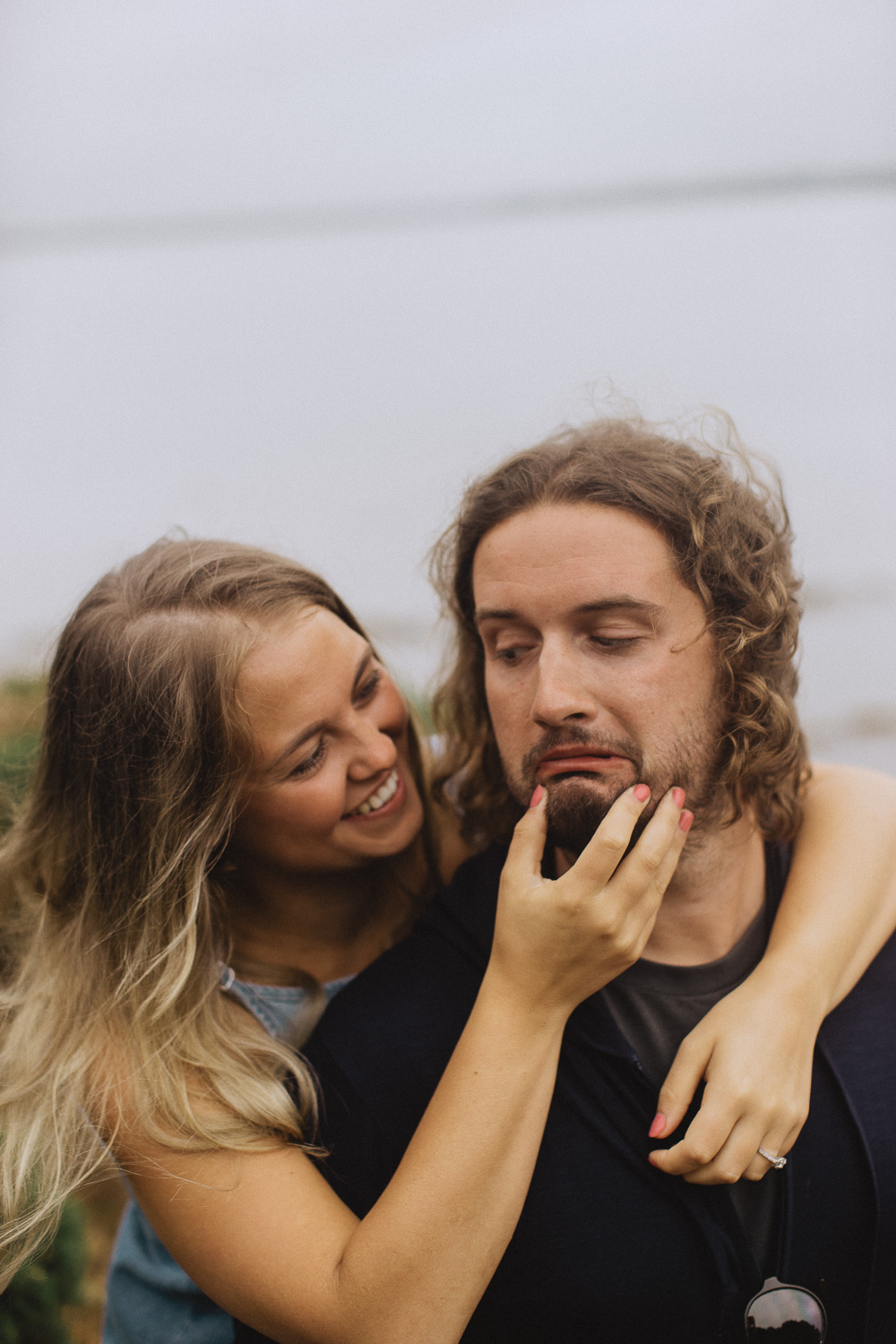 Fox&Bear Photography- Engagement Shoot- Funny