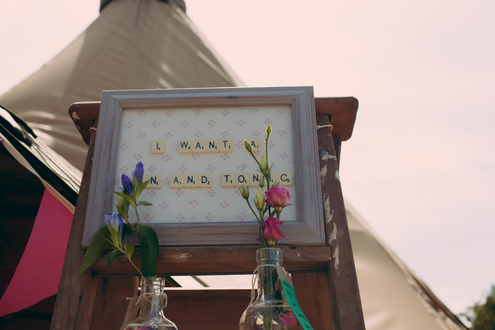 Festival Wedding- Joelle Poulos- Gin