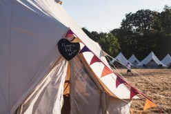 Festival Wedding- Joelle Poulos- Pamper Tent
