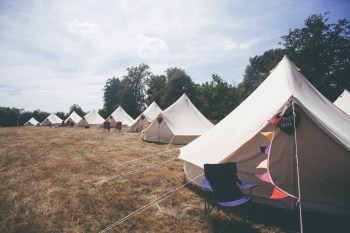 Festival Wedding- Joelle Poulos- Tents