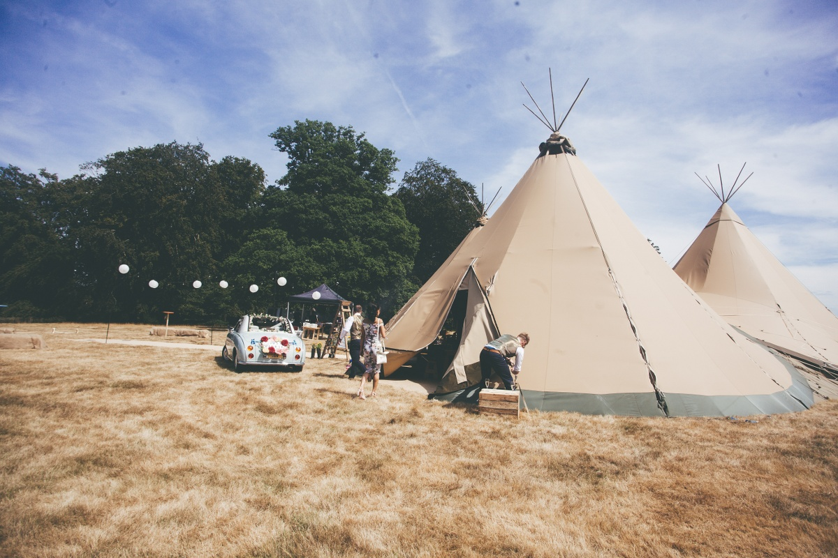 Festival Wedding- Joelle Poulos- Tipi