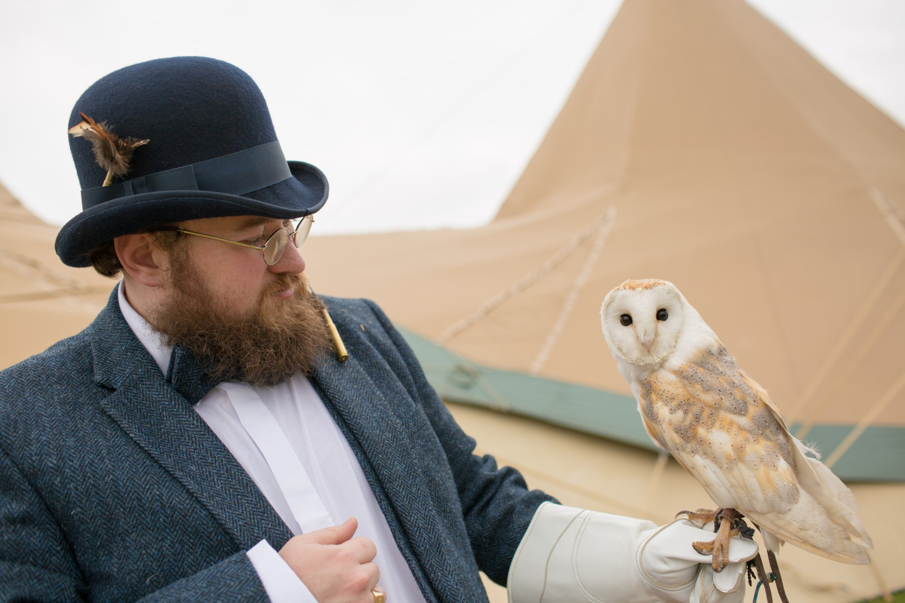 Ragdoll Photography-Tipi Wedding- Owl