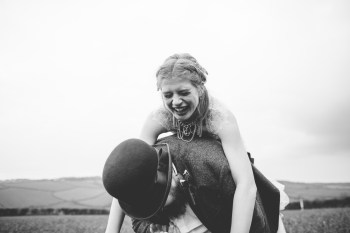 Ragdoll Photography-Tipi Wedding- Piggy Back