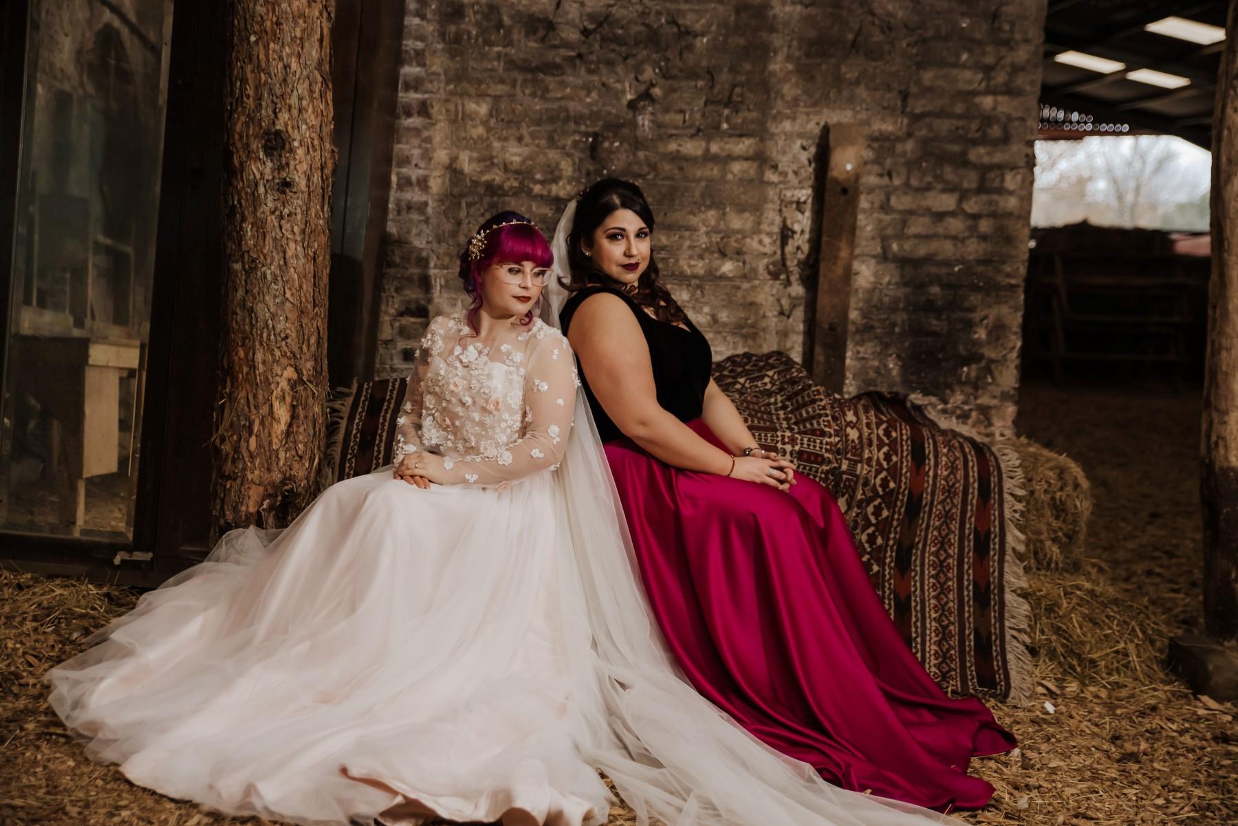 Roshni Photography- Barn Wedding Shoot- Hay